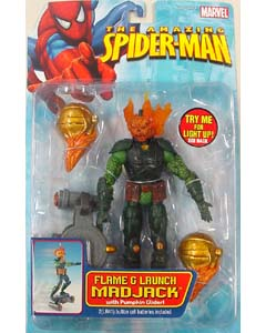 TOYBIZ SPIDER-MAN CLASSICS 18 FLAME & LAUNCH MADJACK