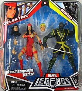 HASBRO MARVEL LEGENDS 2PACK ELEKTRA & RONIN