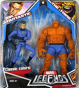 HASBRO MARVEL LEGENDS 2PACK MR.FANTASTIC & THE THING