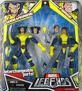 HASBRO MARVEL LEGENDS 2PACK WOLVERINE & FORGE