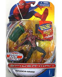 HASBRO SPIDER-MAN TRILOGY SERIES SPIDER-MAN SPINNING KICK ATTACK !