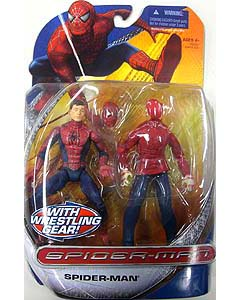 HASBRO SPIDER-MAN TRILOGY SERIES SPIDER-MAN WITH WRESTLING GEAR !