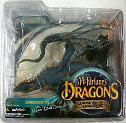 McFARLANE McFARLANE'S DRAGONS SERIES 1 WATER CLAN DRAGON