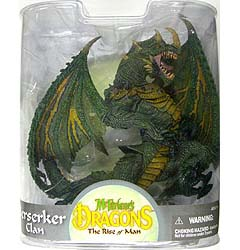 McFARLANE McFARLANE'S DRAGONS SERIES 8 BERSERKER DRAGON