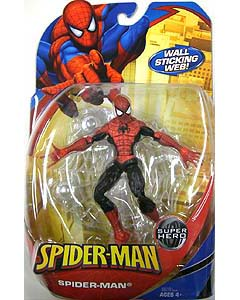 HASBRO SPIDER-MAN CLASSICS 2009 WAVE 1 SPIDER-MAN RED x BLACK COSTUME
