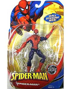 HASBRO SPIDER-MAN CLASSICS 2009 WAVE 1 SPIDER-MAN RED x BLUE COSTUME