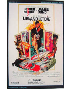 SIDESHOW 12インチ 007 LIVE AND LET DIE 死ぬのは奴らだ BOND : ROGER MOORE