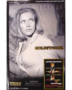 SIDESHOW 12インチ 007 GOLDFINGER ゴールドフィンガー PUSSY GALORE : HONOR BLACKMAN
