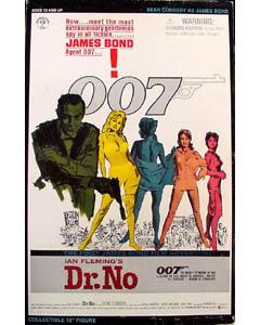 SIDESHOW 12インチ 007 Dr.NO ドクター ノー BOND : SEAN CONNERY