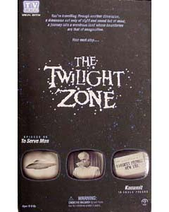 SIDESHOW 14インチ THE TWILIGHT ZONE [TO SERVE MAN] KANAMIT