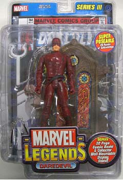 TOYBIZ MARVEL LEGENDS 3 DAREDEVIL ブリスターワレ特価