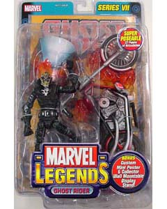 TOYBIZ MARVEL LEGENDS 7 GHOST RIDER #1 ブリスター傷み特価