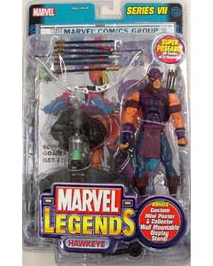 TOYBIZ MARVEL LEGENDS 7 HAWKEYE ブリスターワレ特価
