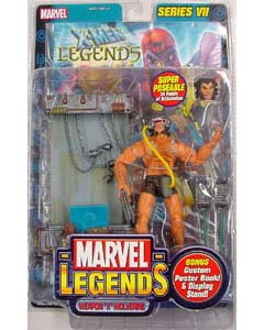 TOYBIZ MARVEL LEGENDS 7 WEAPON X WOLVERINE ブリスター傷み特価