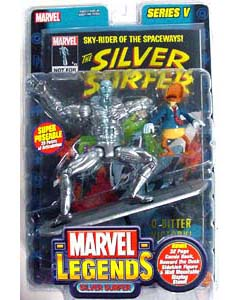 TOYBIZ MARVEL LEGENDS 5 SILVER SURFER
