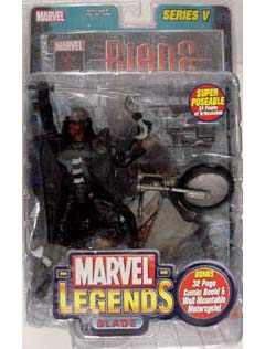 TOYBIZ MARVEL LEGENDS 5 BLADE コミック違い