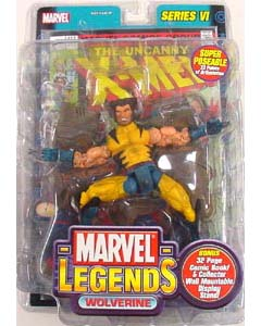 TOYBIZ MARVEL LEGENDS 6 VARIANT WOLVERINE ブリスターワレ特価