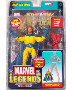 TOYBIZ MARVEL LEGENDS GIANT MAN SERIES VARIANT SENTRY ブリスター傷み特価