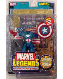 TOYBIZ MARVEL LEGENDS 1 CAPTAIN AMERICA ゴールドカード