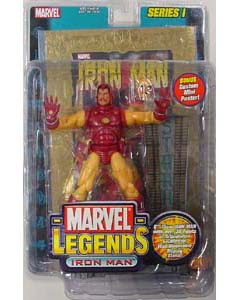 TOYBIZ MARVEL LEGENDS 1 IRON MAN ゴールドカード