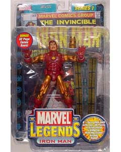 TOYBIZ MARVEL LEGENDS 1 VARIANT IRON MAN