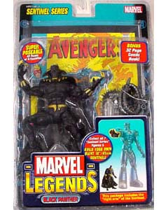 TOYBIZ MARVEL LEGENDS 10 SENTINEL SERIES BLACK PANTHER ワケアリ特価