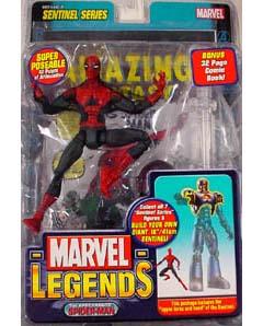 TOYBIZ MARVEL LEGENDS 10 SENTINEL SERIES 1st APPEARANCE SPIDER-MAN