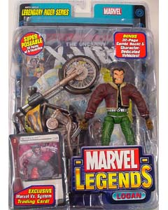 TOYBIZ MARVEL LEGENDS 11 LEGENDARY RIDER SERIES LOGAN ブリスター傷み特価