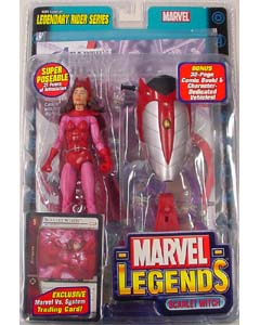 TOYBIZ MARVEL LEGENDS 11 LEGENDARY RIDER SERIES SCARLET WITCH