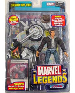 TOYBIZ MARVEL LEGENDS 11 LEGENDARY RIDER SERIES VARIANT LOGAN パーツ外れ&ブリスター傷み特価