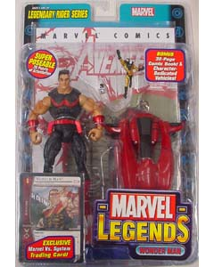 TOYBIZ MARVEL LEGENDS 11 LEGENDARY RIDER SERIES WONDER MAN ブリスター傷み特価