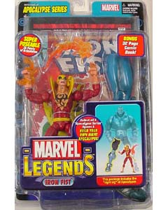 TOYBIZ MARVEL LEGENDS 12 APOCALYPSE SERIES VARIANT IRON FIST ワケアリ特価