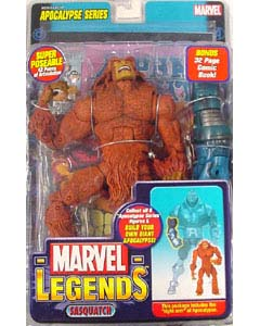TOYBIZ MARVEL LEGENDS 12 APOCALYPSE SERIES SASQUATCH