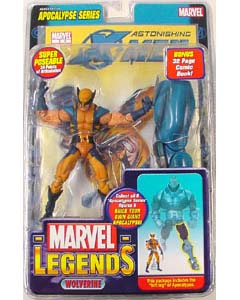 TOYBIZ MARVEL LEGENDS 12 APOCALYPSE SERIES WOLVERINE