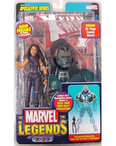 TOYBIZ MARVEL LEGENDS 12 APOCALYPSE SERIES X-23