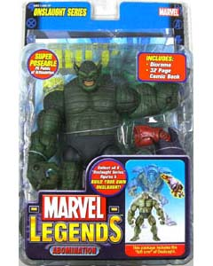 TOYBIZ MARVEL LEGENDS 13 ONSLAUGHT SERIES ABOMINATION ブリスターワレ特価