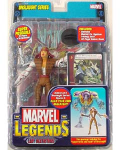 TOYBIZ MARVEL LEGENDS 13 ONSLAUGHT SERIES LADY DEATHSTRIKE ブリスター傷み特価