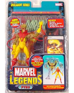 TOYBIZ MARVEL LEGENDS 13 ONSLAUGHT SERIES PYRO ブリスター傷み特価