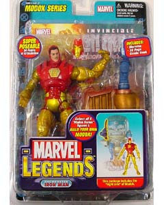 TOYBIZ MARVEL LEGENDS 15 MODOK SERIES THOR BUSTER IRON MAN ワケあり特価
