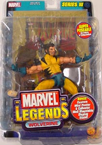 TOYBIZ MARVEL LEGENDS 3 VARIANT WOLVERINE