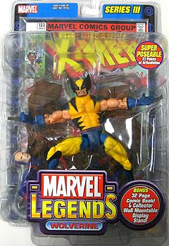TOYBIZ MARVEL LEGENDS 3 WOLVERINE ブリスターワレ特価