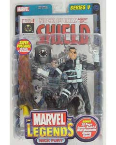 TOYBIZ MARVEL LEGENDS 5 NICK FURY ブリスター傷み特価