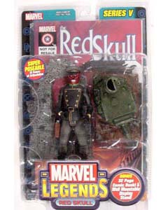 TOYBIZ MARVEL LEGENDS 5 VARIANT RED SKULL ブリスターワレ特価