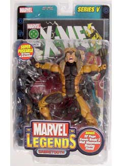 TOYBIZ MARVEL LEGENDS 5 SABRETOOTH