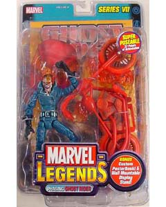 TOYBIZ MARVEL LEGENDS 7 VARIANT GHOST RIDER