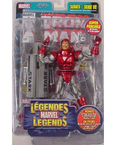 TOYBIZ MARVEL LEGENDS 7 SILVER CENTURION IRON MAN
