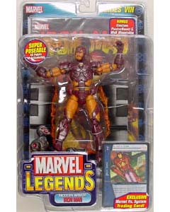 TOYBIZ MARVEL LEGENDS 8 MODERN ARMOR IRON MAN ブリスターワレ特価