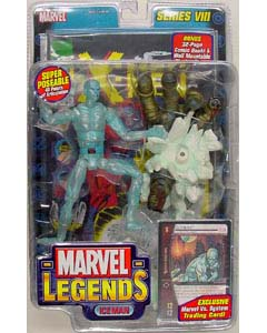 TOYBIZ MARVEL LEGENDS 8 ICE MAN ブリスターワレ特価
