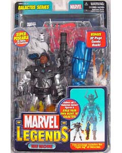 TOYBIZ MARVEL LEGENDS 9 GALACTUS SERIES WAR MACHINE
