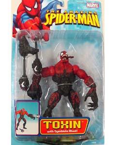 TOYBIZ SPIDER-MAN CLASSICS 19 TOXIN ブリスター剥がれ特価